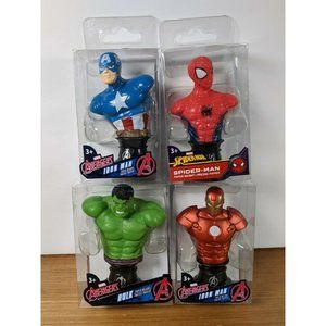 4 Marvel Avengers Mini Paper Weights Iron Man